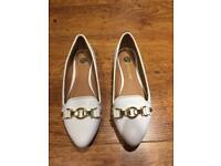 River Island White Shoes, size 4
