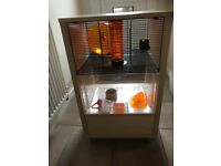 Once used hamster cage, great condition