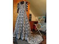 Lengha RRP £4k Asian wedding dress