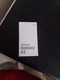 Samsung galaxy a3 unlocked with box