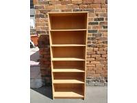 Bookcase pine unit