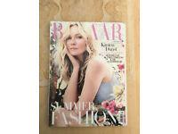 Near Mint Condition, Harper's Bazaar Magazine. May 2014 Cover Star Kirsten Dunst.