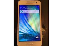 Samsung galaxy A3 16gb mobile on 02/giff gaff
