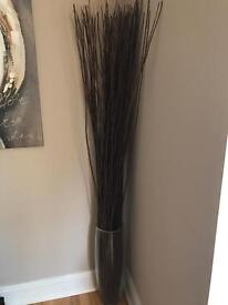 Tall Vase and wooden decorative branches