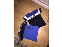 Boys Adidas and Lacoste tshirt