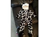 Cow fancy dress costume 6-12 months
