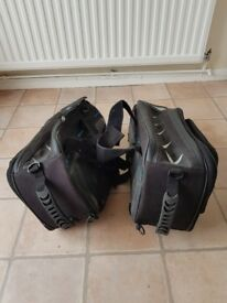 Motorcycle paniers/soft luggage