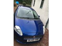 Fiat Punto 2007 excellent condition (MOT Sept 18)