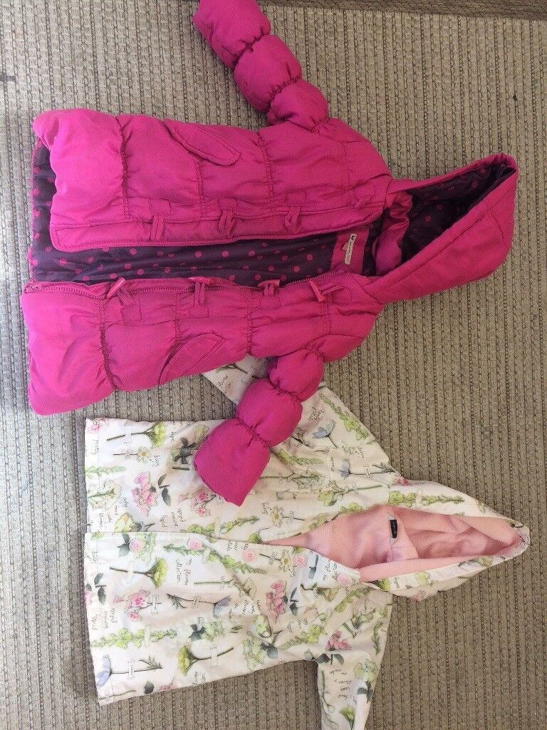 Girls coat bundle age 4yrs