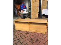 Ikea Oak Effect TV Unit for sale