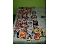 Various marvel an few dc comics