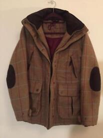 Size 12 Womens/Ladies Sherwood Forest Tweed Hunting Jacket