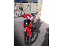 2016 Peugeot VOX 110cc scooter