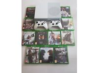 Xbox one 1tb 4k lots of games
