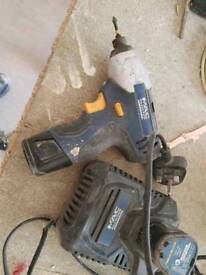 Mac allister 10.8v impact driver with batteries