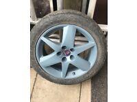Saab Alloys and tyres