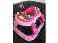 Musical baby walker in good condition