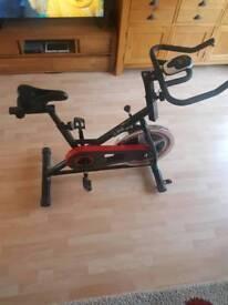 JLL exercising bike