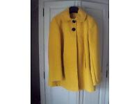 Ladies Florence & Fred Mustard Jacket, size 10.