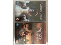 The Vampire Diaries season 1 & 2 DVD open to offers