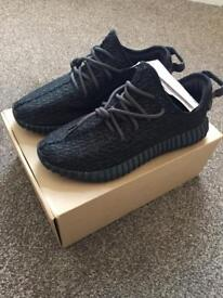 Adidas YEEZY 350 Boost v1 pirate black size 9.5 NEW