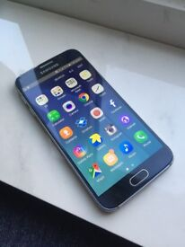 Samsung Galaxy S6 Locked to EE network can be unlocked 32gb Black Good condition Smartphone
