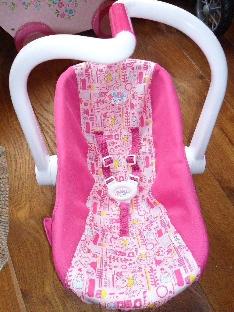 baby born dolls car seat | in Lurgan, County Armagh | Gumtree