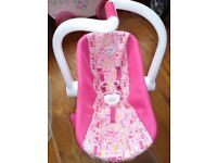 baby born dolls car seat