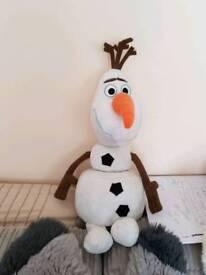 Talking Olaf