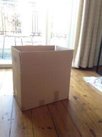 Set of 10 medium moving boxes