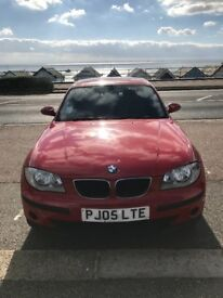 BMW 1 series 116i red