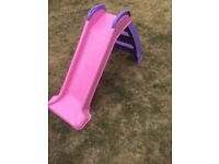 Little Tikes pink / purple slide WITH BOX