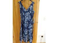 Linen East sundress size 10/12