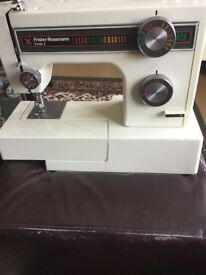 Friswell Rossman sewing machine
