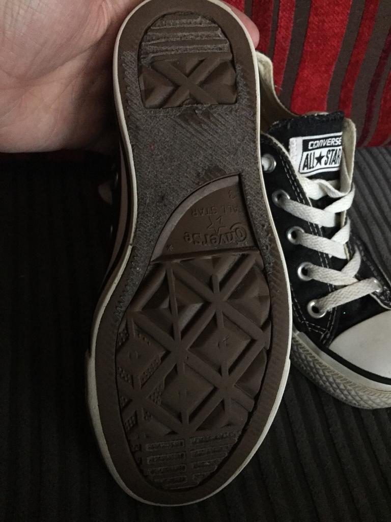 336c4f7ca59 Black and white converse