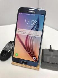 Samsung S6 32GB UNLOCKED EXCELLENT CONDITION BLUE