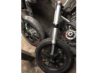 Yamaha r125 forks