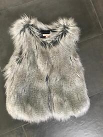 Girls age 9-10 year fur Gillette jacket