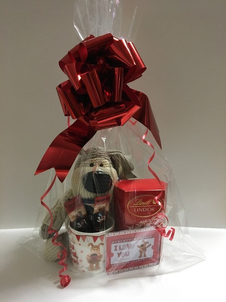 A Beautiful Boofle Valentines Day Gift Hamper For Him Boyfriend