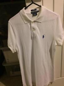 Ralph Lauren Ladies White T Shirt