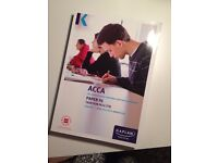 ACCA Paper F6 Taxation Exam Kit--Brand new