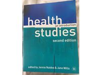 Health studies an introduction