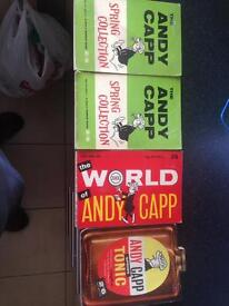 4 x Andy capp books