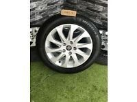 """16 """" Genuine Seat Leon MK3 5F 10 Spoke Alloy Wheels 5x112 VW Golf Caddy Tyres Alloys"""