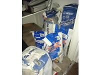 Huge lot of Mapei Tile Adhesive and Grout