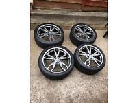 Genuine 18 inch Bmw 436M alloy wheels F21/F22 M135i/M140i/M235i/M240i