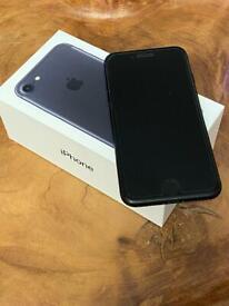 iPhone 7 Black 128gb O2