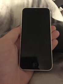 White iPhone 5c - mint condition