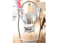 Graco Swing and Bounce baby swing and bouncer seat