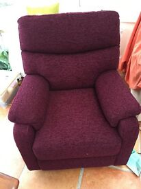 Electric reclining chair. Brand new unused.